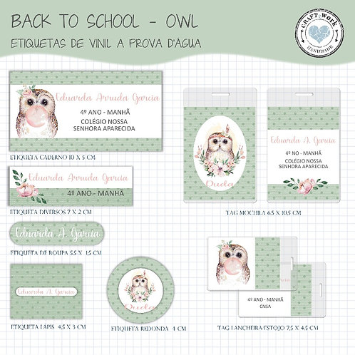 Back to School -OWL