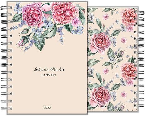Agenda Romantic Rose II