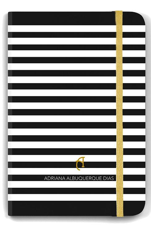 Caderno Basic Black Stripes
