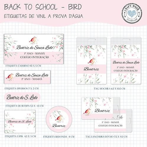 Back to School -Bird