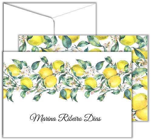 Cartão Social Lemon