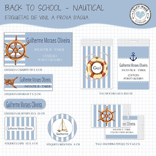 Back to School - NAUTICAL
