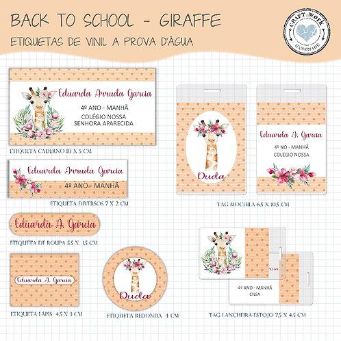 Back to School - GIRAFFE