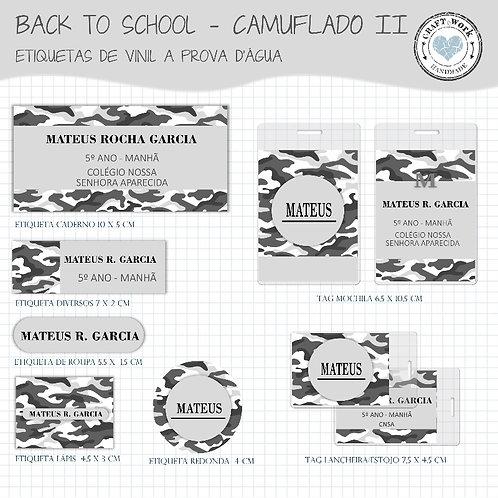 Back to School - CAMUFLADO GREY