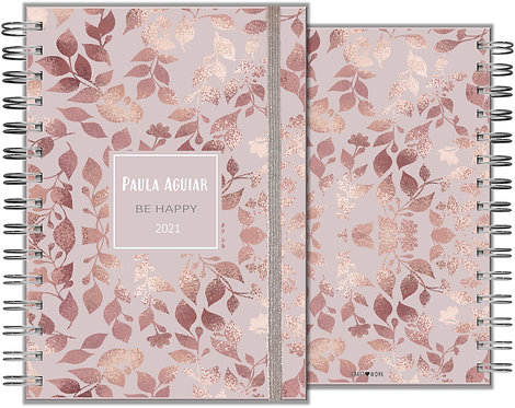 Agenda Rose Gold Flower