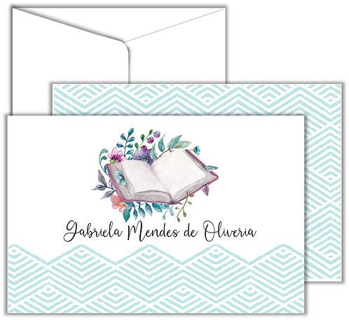 Cartão Social Book COLEÇÃO HOBBIES