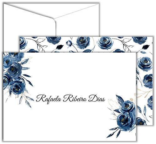 Cartão Social Marine Flores