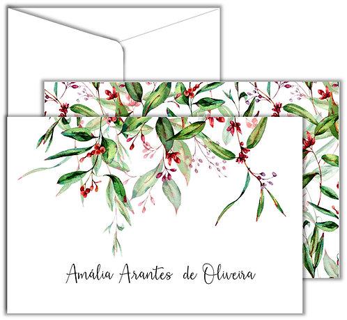 Cartão Social Eucalyptos