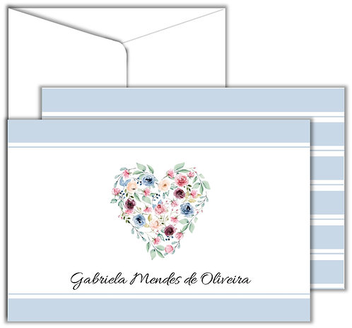 Cartão Social Heart