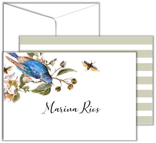 Cartão Social Blue Bird