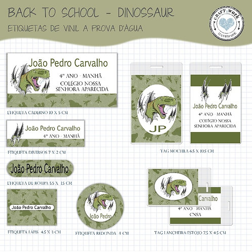 Back to School - DINOSSAUR