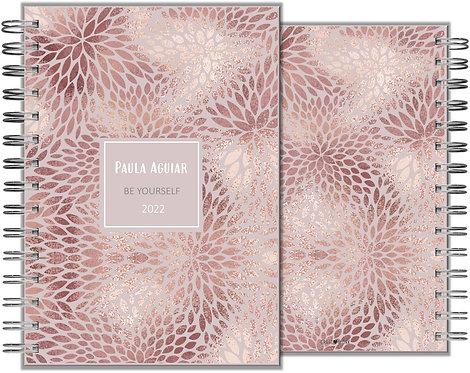 Agenda Rose Gold Texture