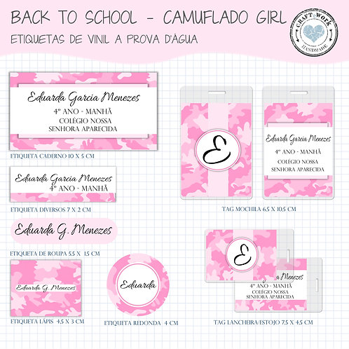 Back to School -CAMUFLADO GIRL