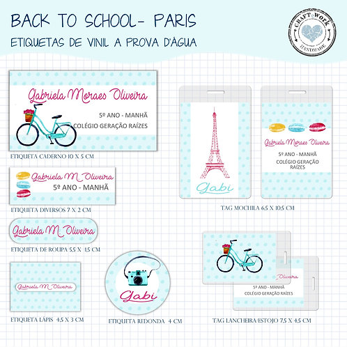 Back to School - Paris