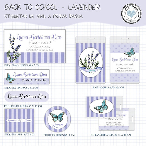 Back to School -LAVENDER