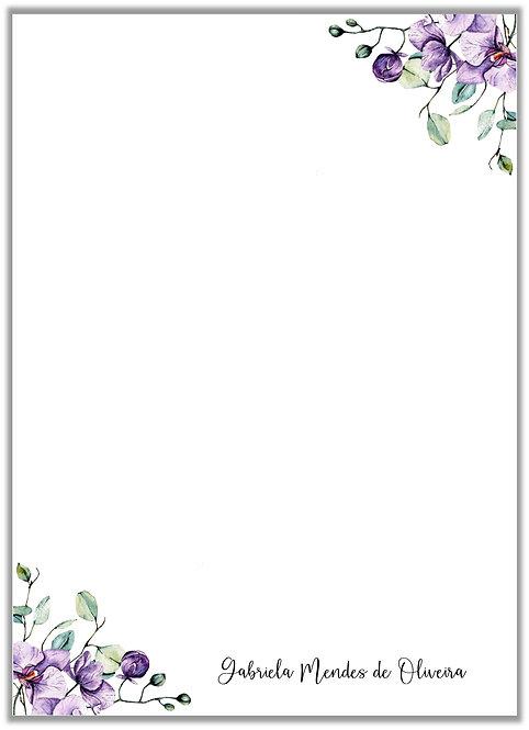 Papel de Carta Orchid II