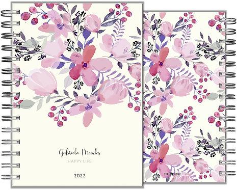 Agenda painted Flower