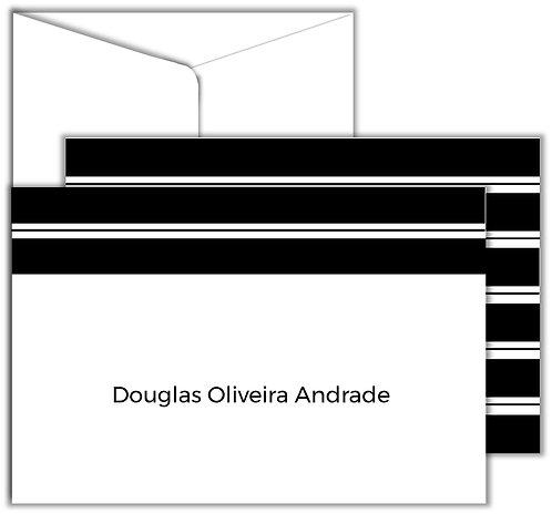 Cartão Social Stripes