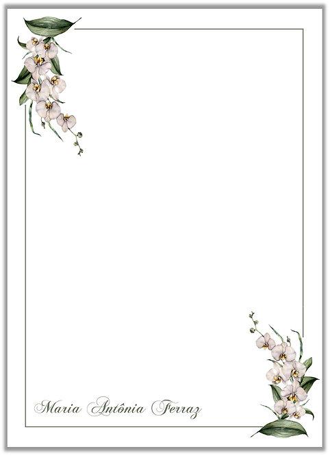 Papel de Carta Orchid III