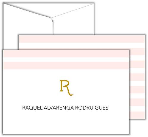 Cartão Social Basic Stripes