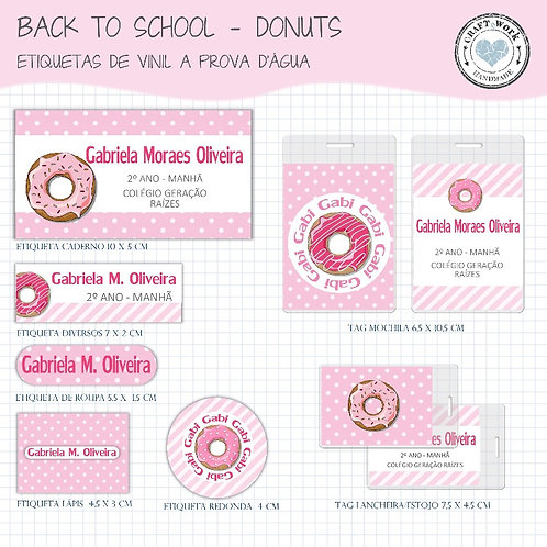 Back to School - DONUTS