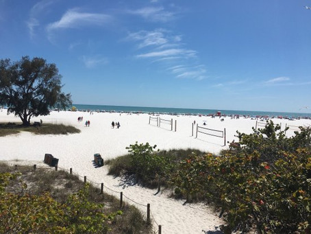 Sarasota & St Petersburg ranked number 1 and 2 best beaches in the USA