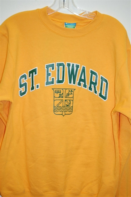 Crew Gold St. Edward Crest