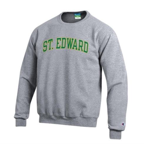Gray Classic Crew Sweatshirt