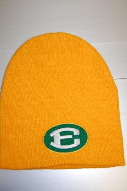 Gold Skull Cap witth Oval E logo