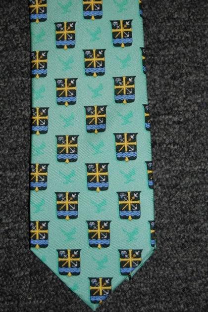 Tie 100% Silk Green St. Edward Crest