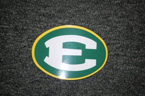 Mini Magnet 3.25x2.5 Oval E Logo