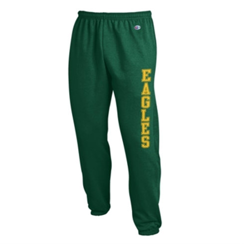 Sweatpants Cinched Bottom- Green