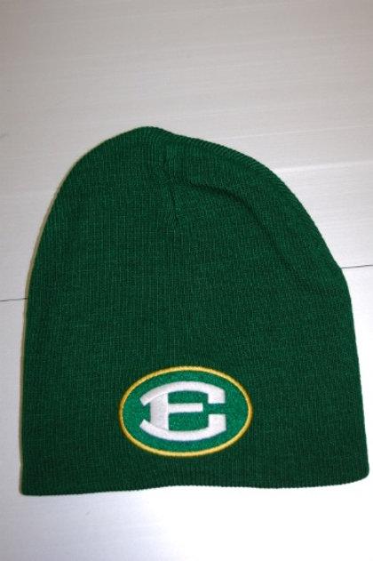 Green Skull Cap witth Oval E logo