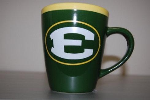 Green and Gold 18 oz. Mug