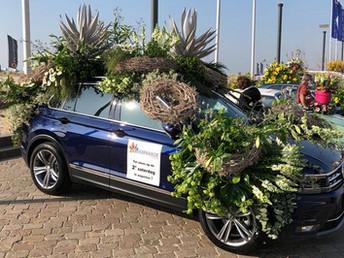 AC van Egmond te zien tijdens Bloemencorso Bollenstreek