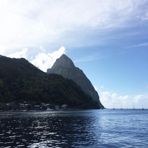 Lounging Lackadaisically in St. Lucia