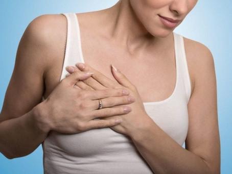 أسباب ألم الثدي وطرق العلاج