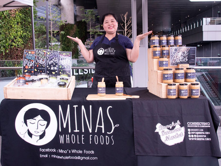 An interview with Mina Thapa, Mina's Whole Foods