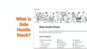 What is Side Hustle Stack?