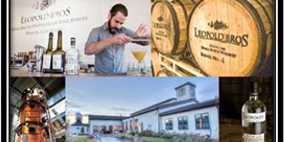 Titan 100 Event at Leopold Bros. Distillery
