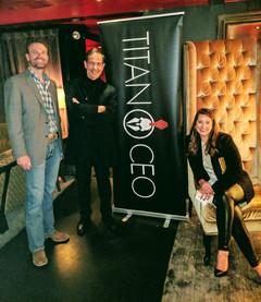 Skye Perry, Levent Gun, Alejandra Harvey Titan CEO