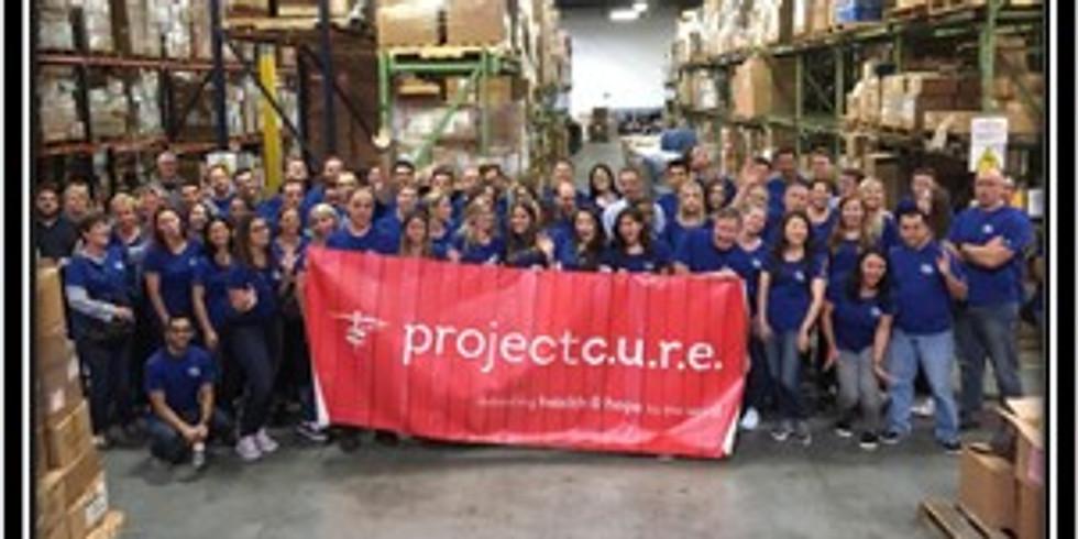 Titan 100 Volunteer Event with Project C.U.R.E.