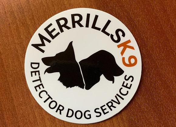 Merrills K9 Sticker
