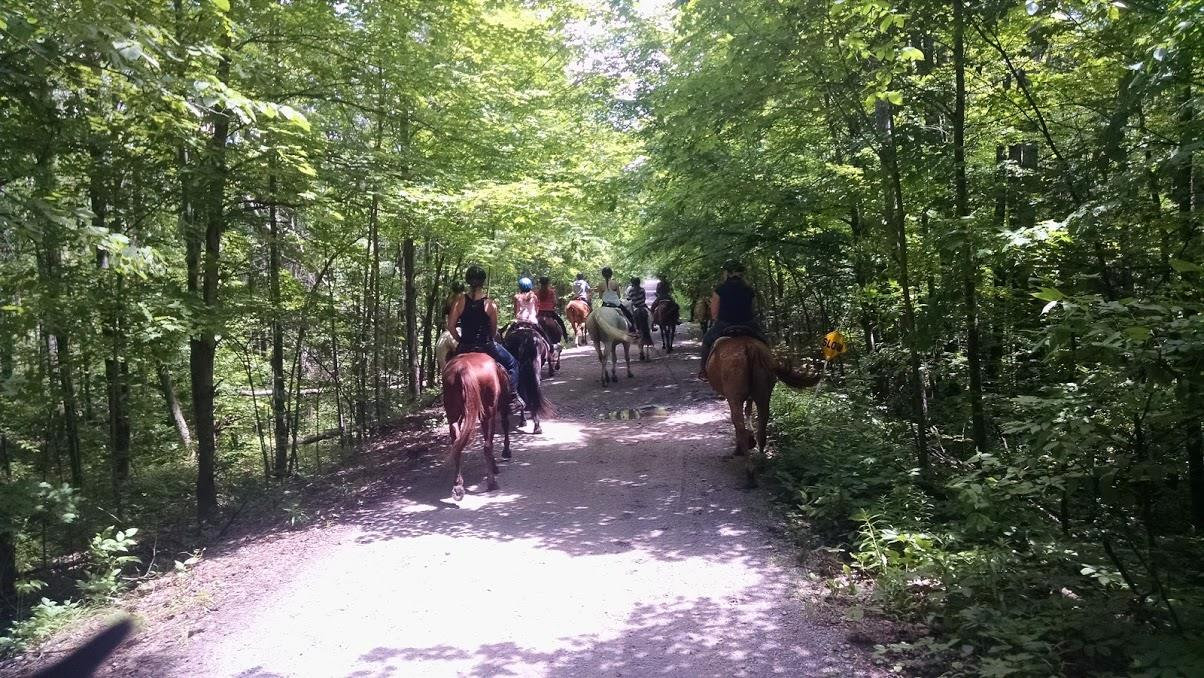 2.8 mile Trail Ride