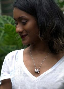 Silver Koala Necklace
