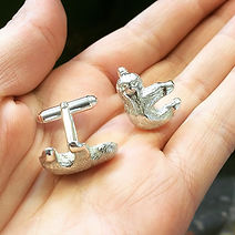Dani Lane Sloth Cufflinks