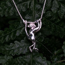 Dani Lane Monkey Necklace