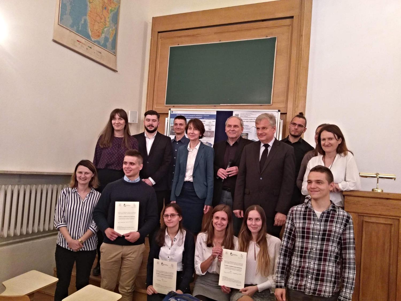 Uczestnicy Konkursu z jury