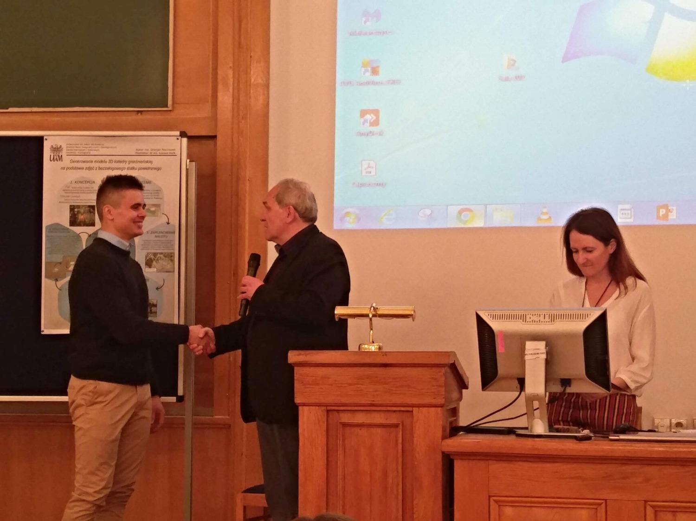 Mateusz Kamiński z lewej - I nagroda