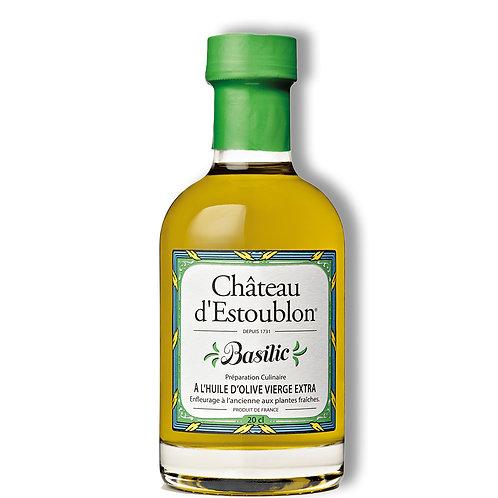 huile basilic château d'estoublon